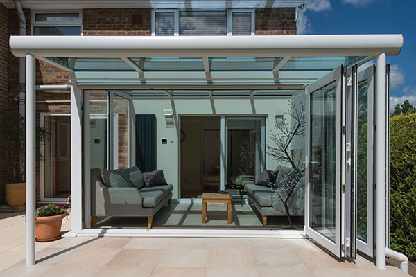White Glass Extension