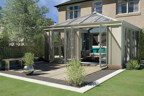 Loggia Olive Green Conservatory